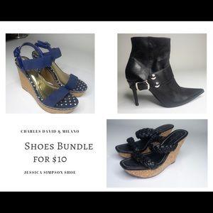Shoes Bundle :Jessica Simpson, Charles, Milano